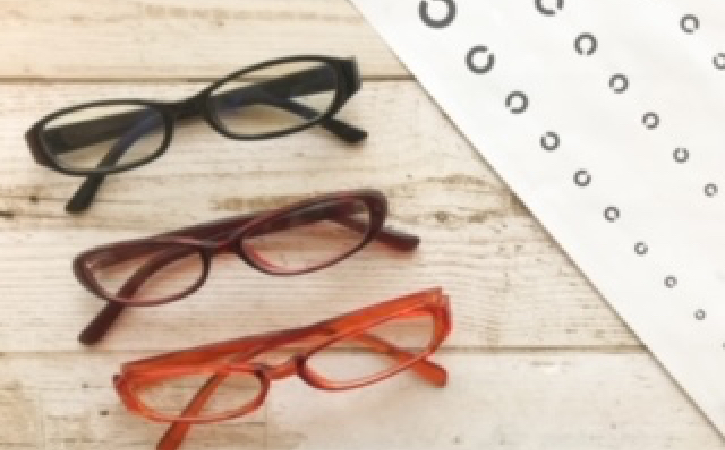 視力低下の原因